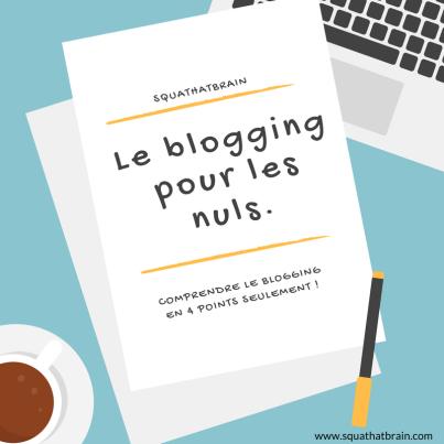 Le blogging pour les nuls. (4)